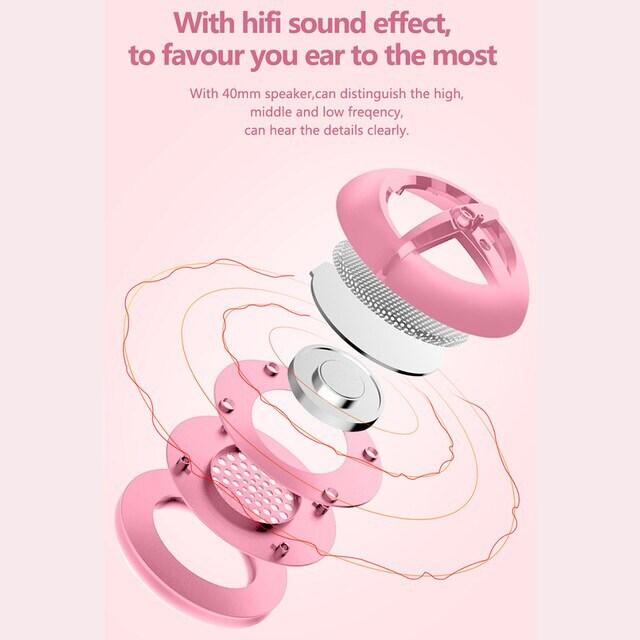 Pink Gaming Headset 7.1 Pink - 4