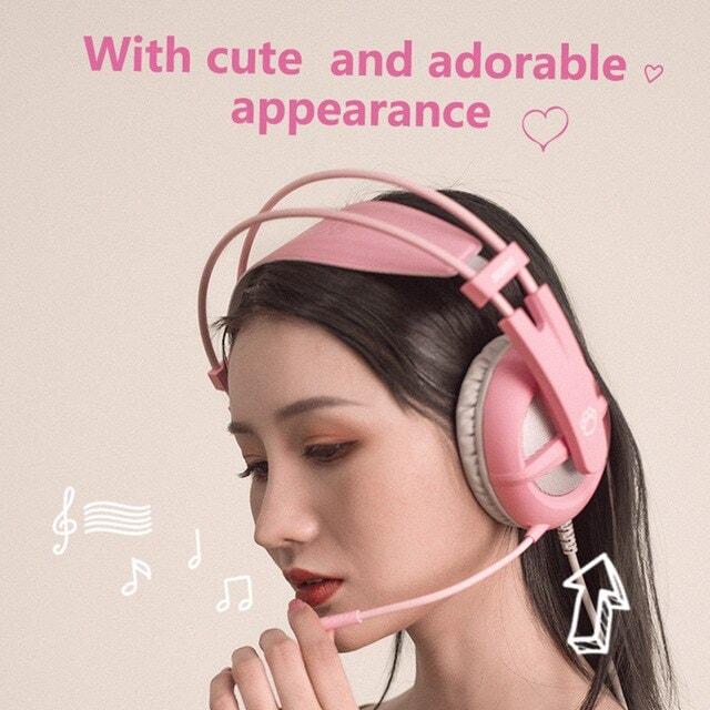 Pink Gaming Headset 7.1 Pink - 6