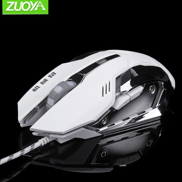 Sounds Game Gaming Mouse White - 2