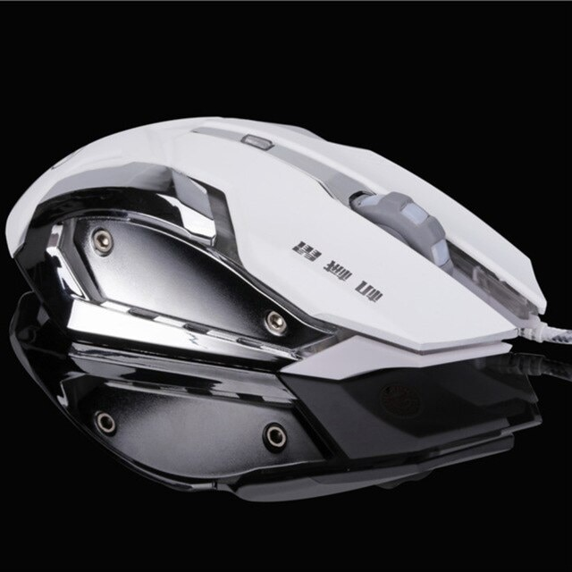 Sounds Game Gaming Mouse White - 6