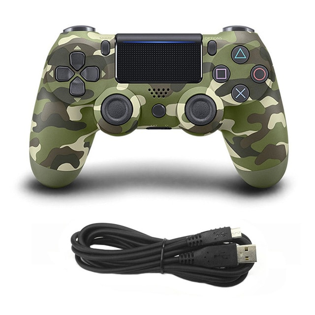 Wired Game Controller for Sony PS4 Gold - 3