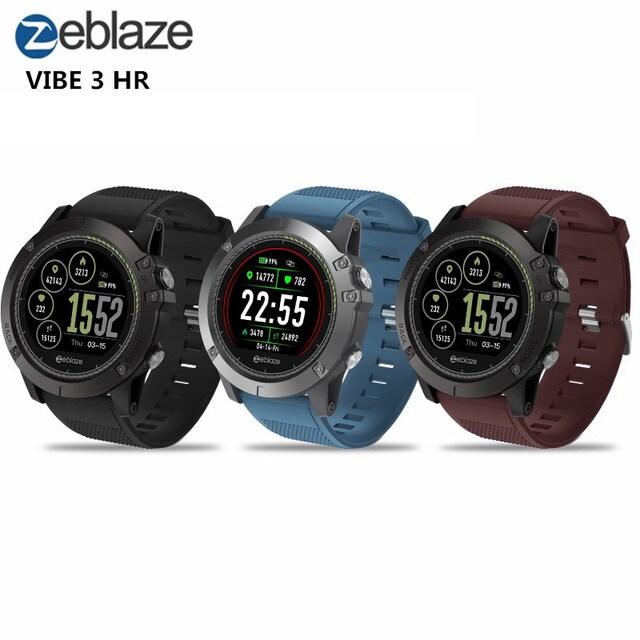 Zeblaze VIBE3 ECG Smart Watch Men Sport Waterproof Electrocardiogram Sleep Monitoring Fitness Tracker Blue CHINA - 1