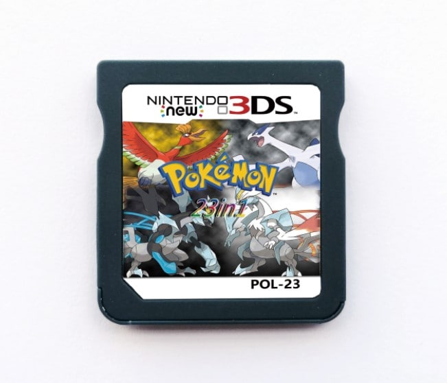 23 In 1 Video Game Compilation Card For Nintendo DS/3DS/2DS Console Nintendo 3DS - 3