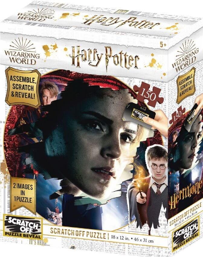 Harry Potter: Magiczne puzzle-zdrapka - Hermiona (150 elementów) - 1
