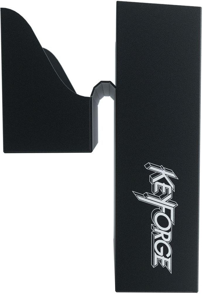 Pudełko na talię KeyForge - Aries Black Deck Box - Czarne - 7