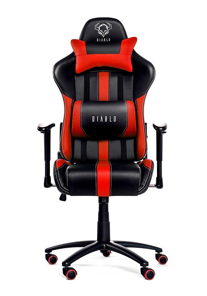 DIABLO X-PLAYER Gaming Chair Black & red - 1