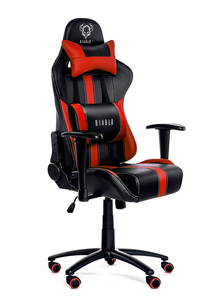 DIABLO X-PLAYER Gaming Chair Black & red - 2