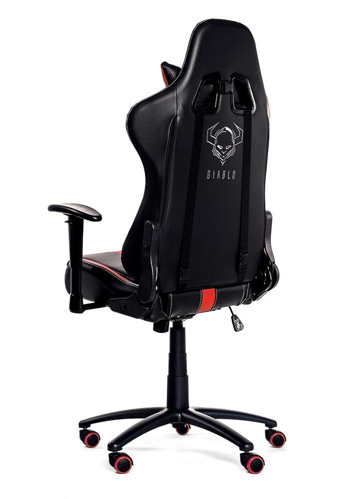 DIABLO X-PLAYER Gaming Chair Black & red - 5