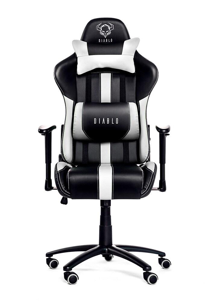 DIABLO X-PLAYER Gaming Chair Black & white - 1