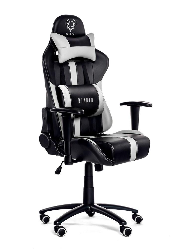 DIABLO X-PLAYER Gaming Chair Black & white - 2