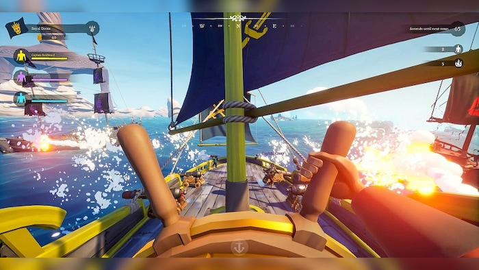 Blazing Sails: Pirate Battle Royale (PC) - Steam Key - GLOBAL