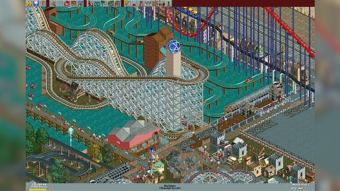 RollerCoaster Tycoon: Deluxe Steam Key GLOBAL