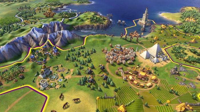 Sid Meier's Civilization VI (PC) - Steam Key - GLOBAL