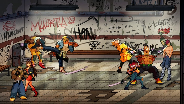 Streets of Rage 4 (PC) - Steam Key - GLOBAL