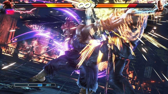 Tekken (currently up to 7)