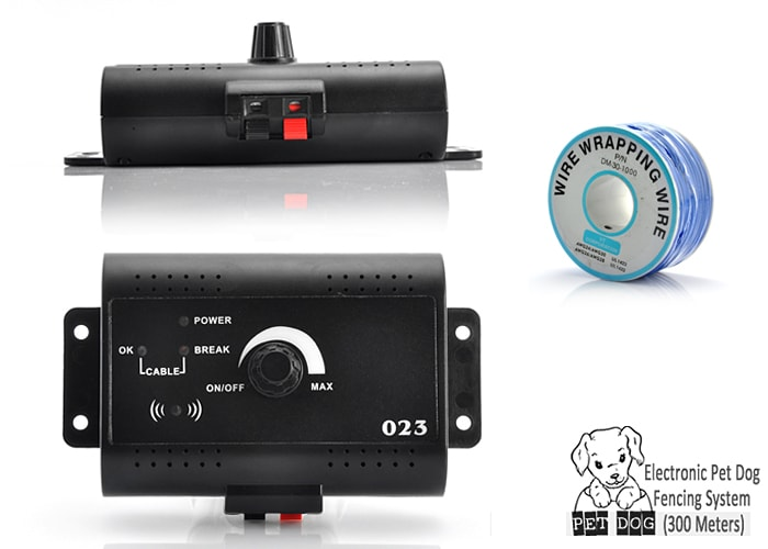 Electronic Pet Dog Fencing System (300 Meters) - 4