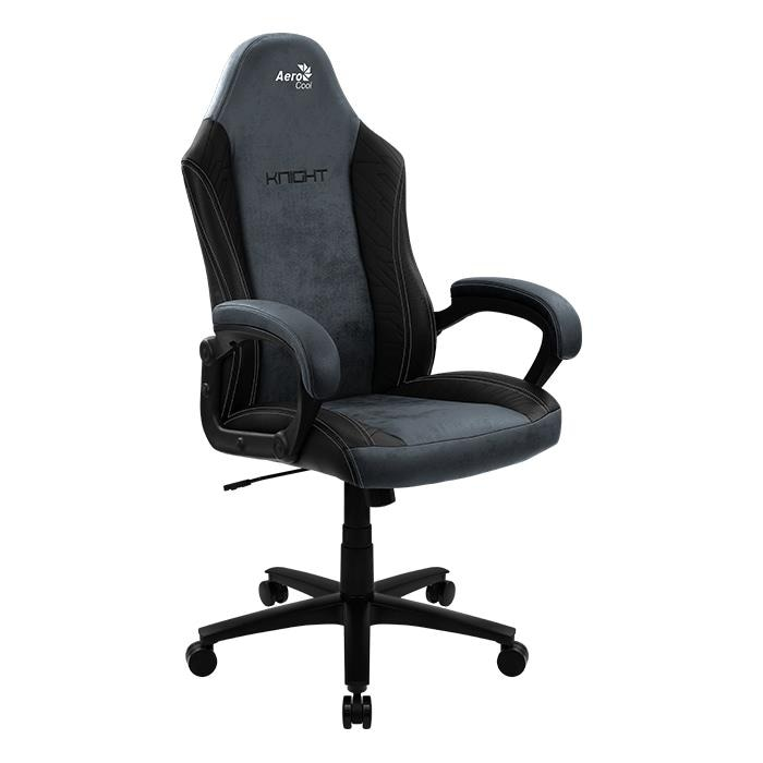 Aerocool KNIGHT Lite Universal gaming chair Padded seat Black - 1
