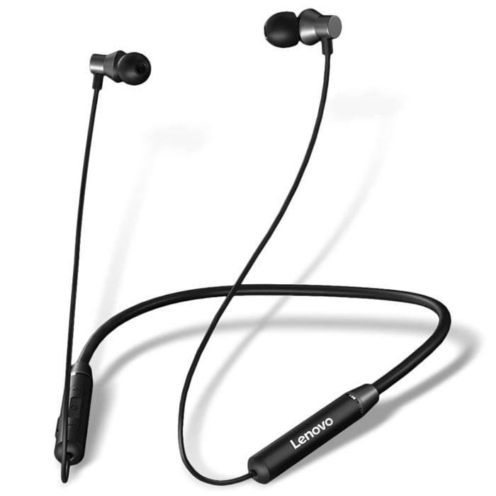Lenovo HE05 Bluetooth 5.0 Magnetic Neckband Earphones Sport Earbuds - 1