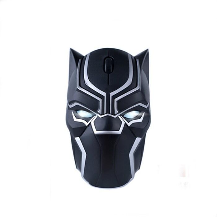 Original Marvel 2.4G Wireless Gaming Mouse Mice 1200DPI Black Panther - 1