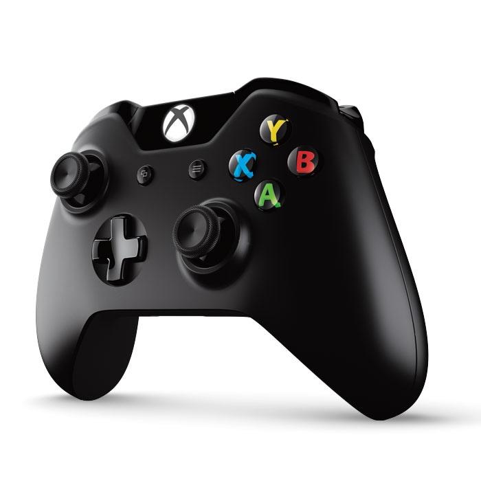Xbox One v2 Wireless Controller + kabel Black - 2