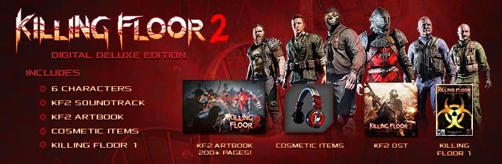 Killing Floor 2 Digital Deluxe Edition - Steam - Key GLOBAL - 2
