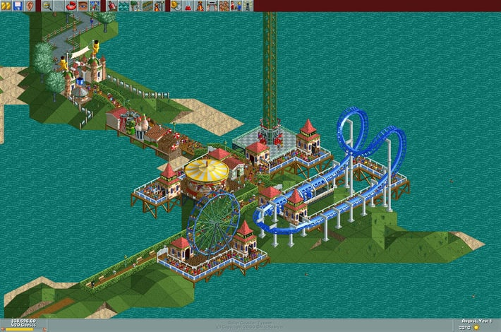 RollerCoaster Tycoon: Deluxe Steam Key GLOBAL - 2