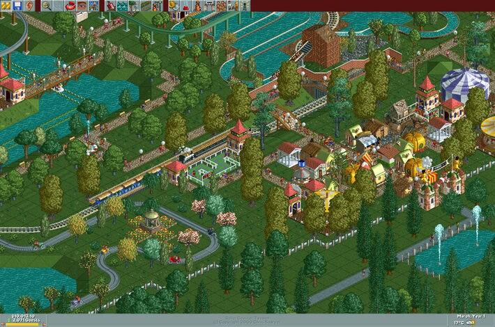RollerCoaster Tycoon: Deluxe Steam Key GLOBAL - 3