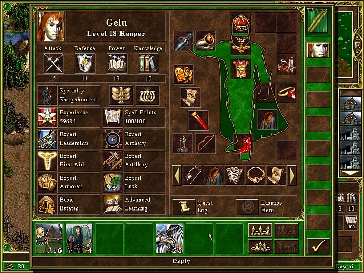Heroes of Might & Magic 3: Complete GOG.COM Key GLOBAL - 1