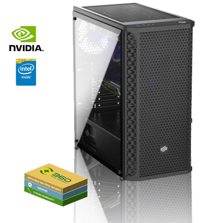 EXGM 1700 Gaming PC   i5-9400F 8 GB NVIDIA GeForce GTX 1660 240 Windows 10 Home - 1