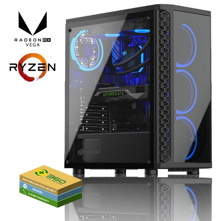 EXGM 2600 Gaming PC   Ryzen 5 2600 16 GB AMD Radeon RX 5700 1000 Windows 10 Home - 1