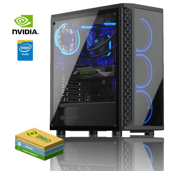 EXGM 2800 Gaming PC | i5-9400F 32 GB NVIDIA GeForce RTX 2060 1000 Windows 10 Home - 1