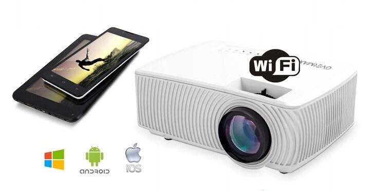 Rzutnik Projektor Overmax Multipic 2.4 Led Hd Wifi - 3
