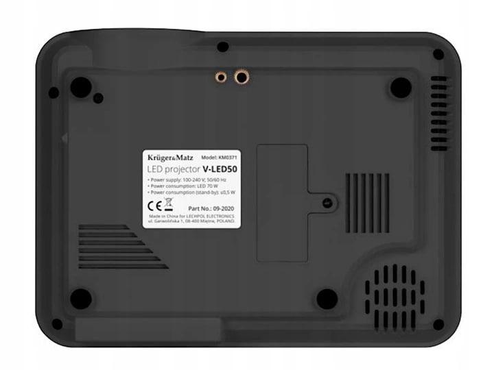 Projektor Rzutnik Led K&M V-Led50 Full Hd Wifi - 4