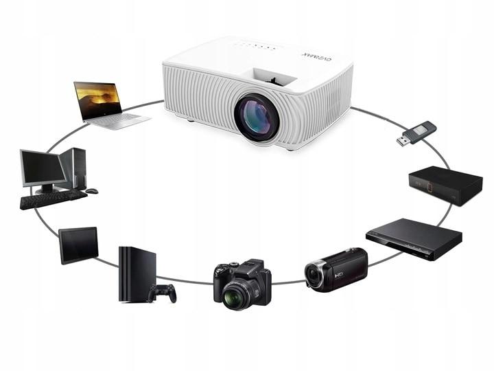 Rzutnik Projektor Overmax Multipic 2.4 Led Hd Wifi - 7