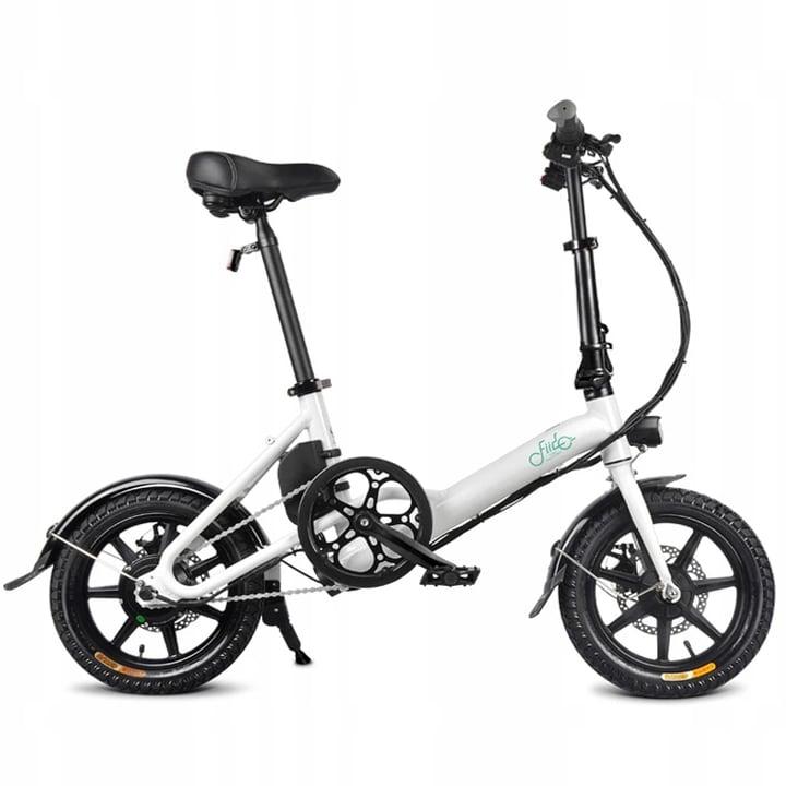 FIIDO D3 Folding Electric Bike 250W 7.8Ah 14 inches - White - 1