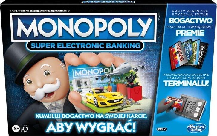 Hasbro Monopoly Super Electronic Banking (E8978) - 1