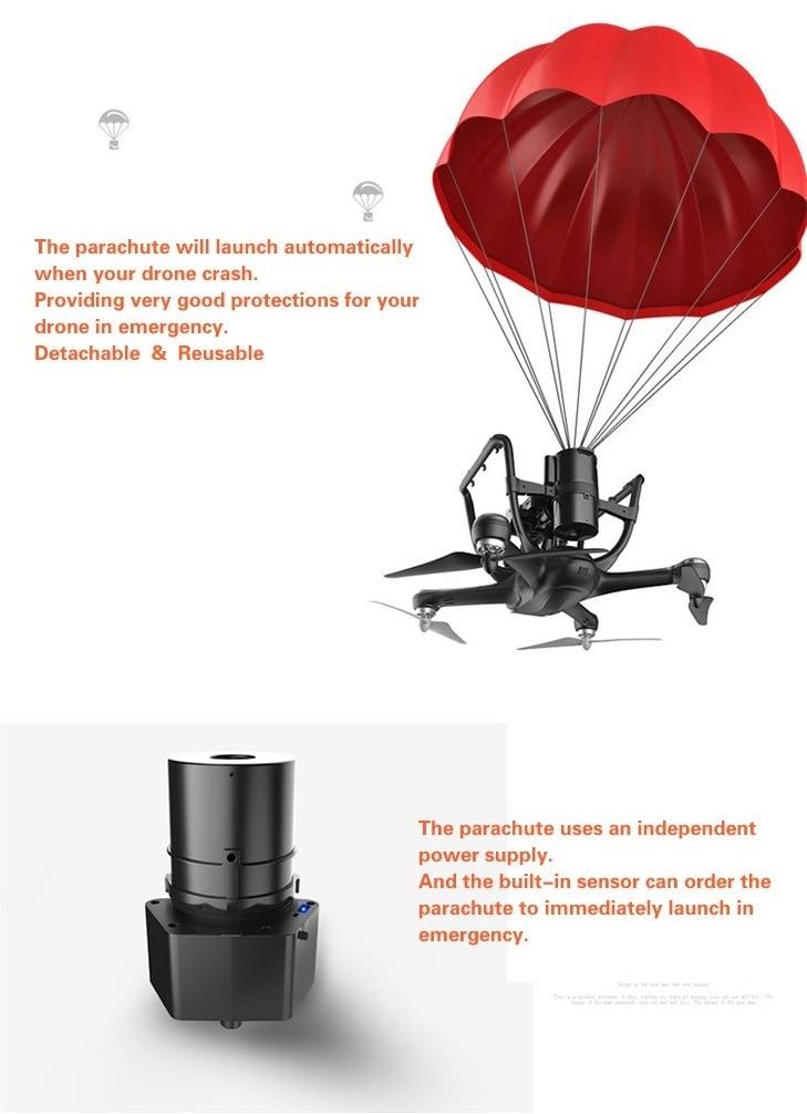 Automatic Escape Drone Parachute for DJI Quadcopter Phantom 4 Or 3 Drone Parachute Accessories - 1