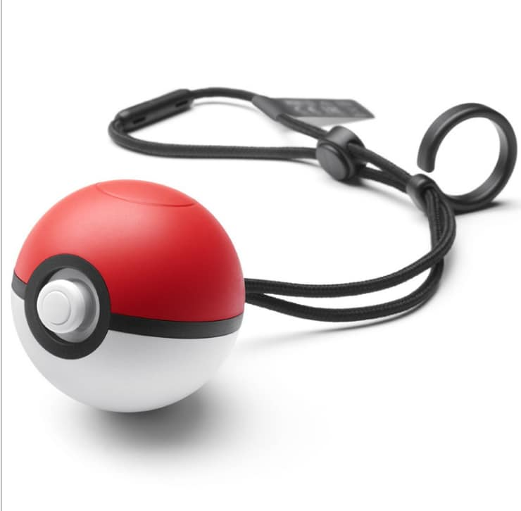 POKEMON GO Plus for Pokeball BALL Elf ball Controller Game Pickachu and Evee for Nintendo Switch Smartphone - 3