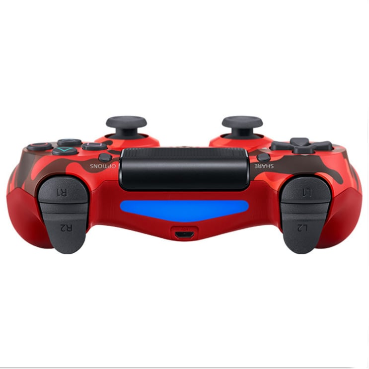 PS4 Wired Controller Dual Shock 4 Gamepad For Sony Playstation 4 Red Camouflage - 3