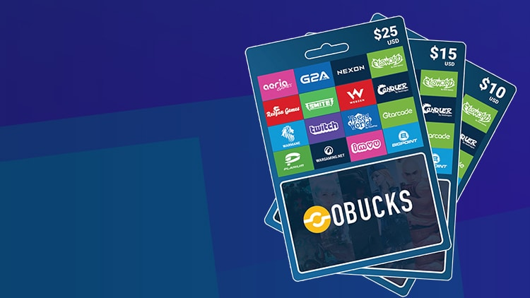oBucks Gift Card 50 USD - oBucks Key - GLOBAL - 1