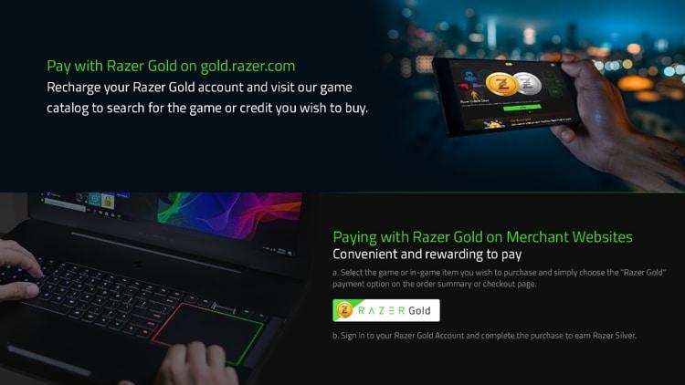 Razer Gold 20 USD - Razer Key - UNITED STATES - 3