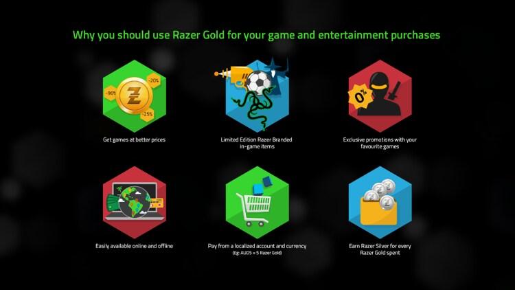 Razer Gold 5 USD - Razer Key - GLOBAL - 2