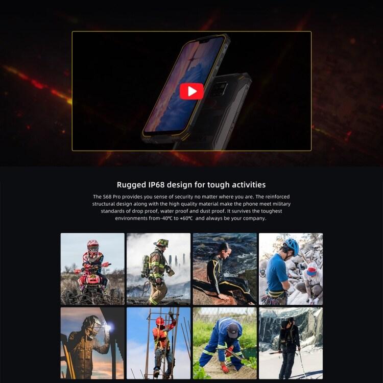 DOOGEE S68 Pro Rugged Phone, 6GB+128GB - 4