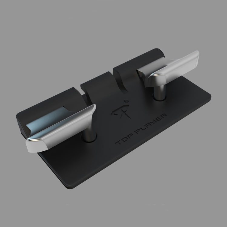 L2 R2 Hand Grip Handle Case & L3 R3 Trigger Button Touchpad Black For PS VITA 2000 - 9