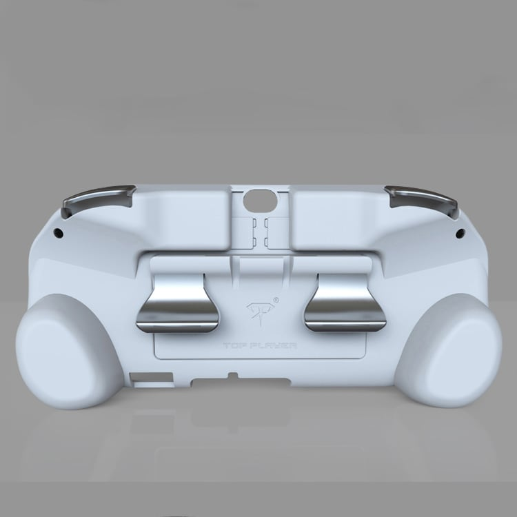 L2 R2 Hand Grip Handle Case & L3 R3 Trigger Button Touchpad White For PS VITA 2000 - 3