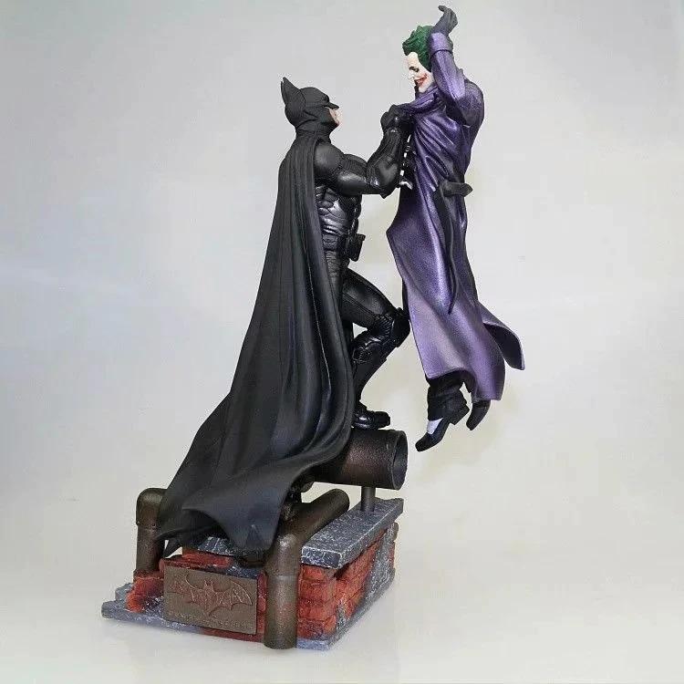 Marvel Batman VS Joker Statue Action Figure Toy 300mm Diorama Figurals Model Toys Anime Batman Joker Figurine Brinquedos Movie & TV - 1