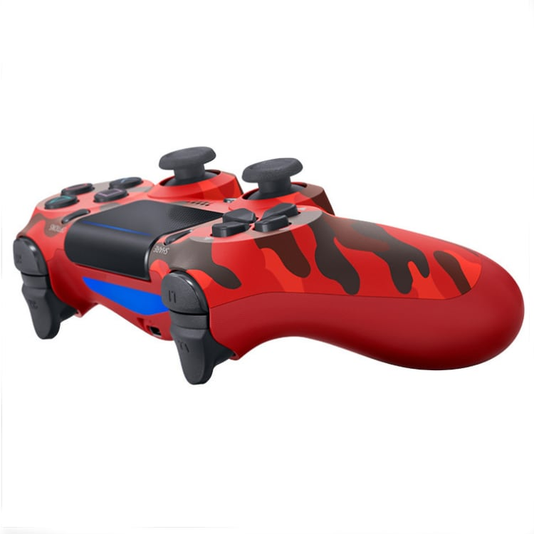 PS4 Wired Controller Dual Shock 4 Gamepad For Sony Playstation 4 Red Camouflage - 2