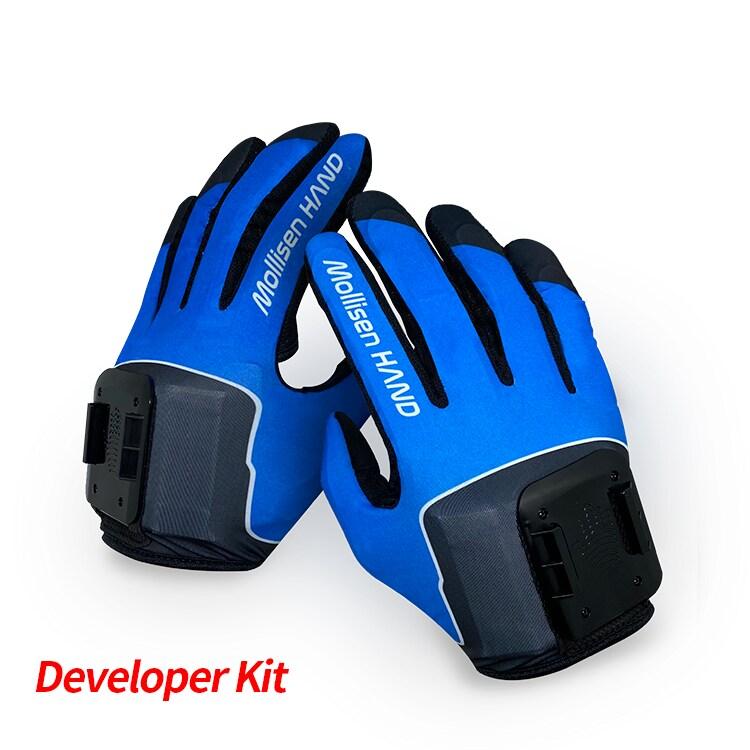 Rękawice haptyczne do VR Mollisen + 2 uchwyty na VR - 2