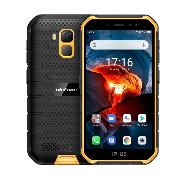 Ulefone Armor X7 Pro Rugged Phone, 4GB+32GB (Yellow) - 1
