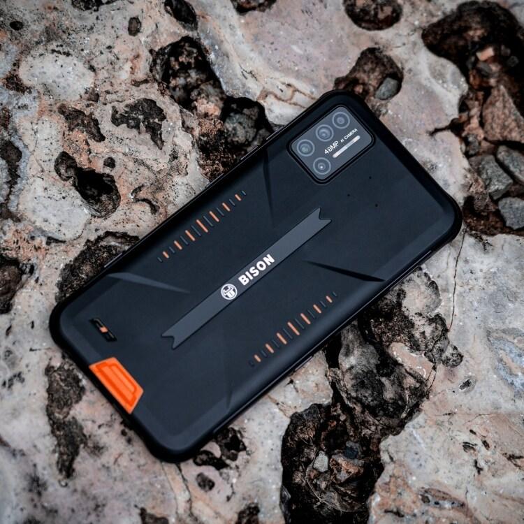 UMIDIGI BISON Rugged Phone, 6GB+128GB (Orange) Orange 128 GB 6 GB - 3